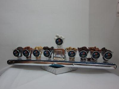Chocolate Chamukah Menorah