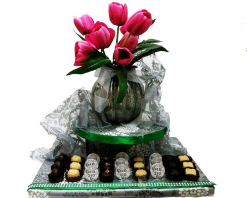 Flower Chocolate Arrangement