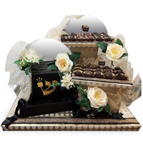 Bar Mitzva Chocolate arrangement